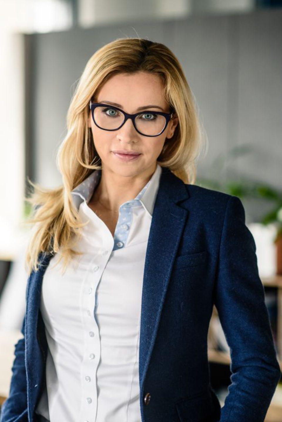 portret biznesowy kobiety